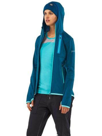 Mons Royale Merino Approach Tech Mid Hood Jacket