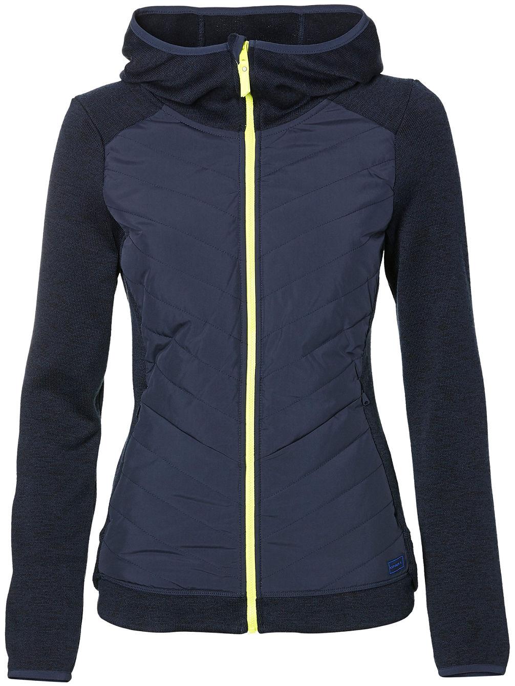 37b8cab85e268 Buy O'Neill Piste Hoodie Baffle Fleece Jacket online at Blue Tomato