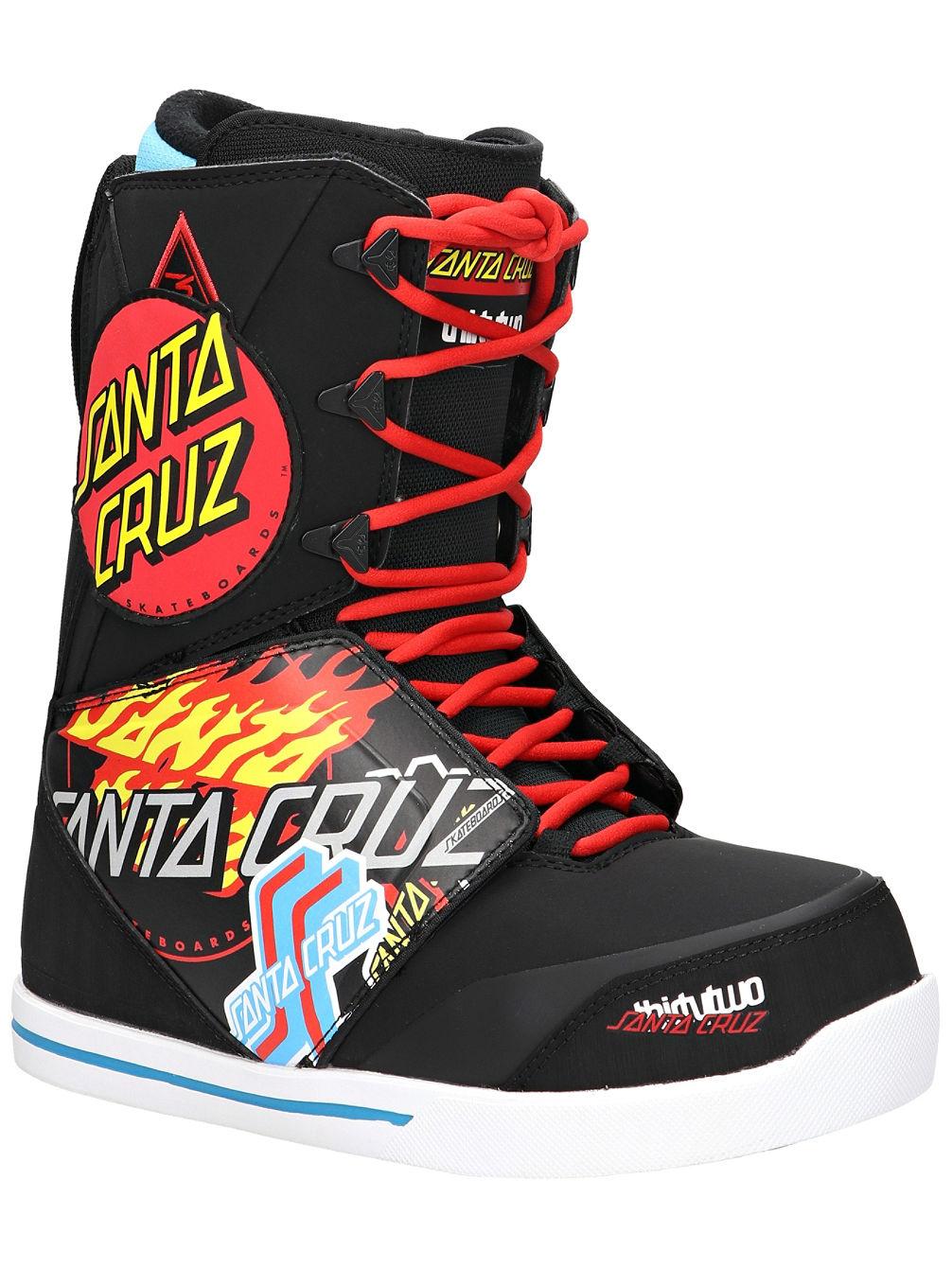 Compra ThirtyTwo Santa Cruz Lashed 2019 Scarponi da snowboard online su  blue-tomato.com db19820e6f0
