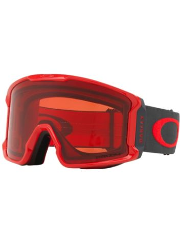 Oakley Line Miner Red Forged Iron Goggle