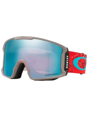 Oakley Line Miner Arctic Fracture Red Sea Goggle