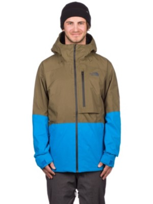 The North Face Sickline skiing jacket beige blue