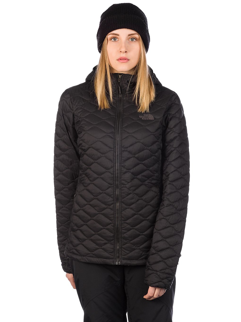 THE NORTH FACE Thermoball Hooded Outdoor Jacket tnf black matte