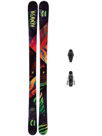 Armada ARV 84 142 + Lithium 10 Demo 2019 Boys Freeski-Set