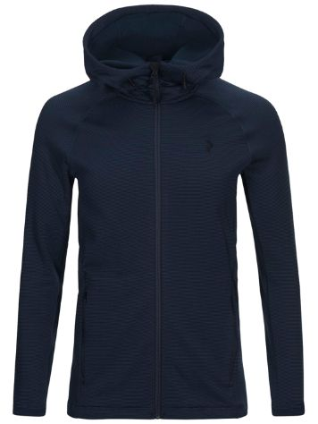 Peak Performance Waitara Zip Hood Fleecejacke