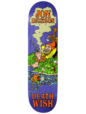 "Deathwish Dickson Happy Place 8.25"" Skate Deck"