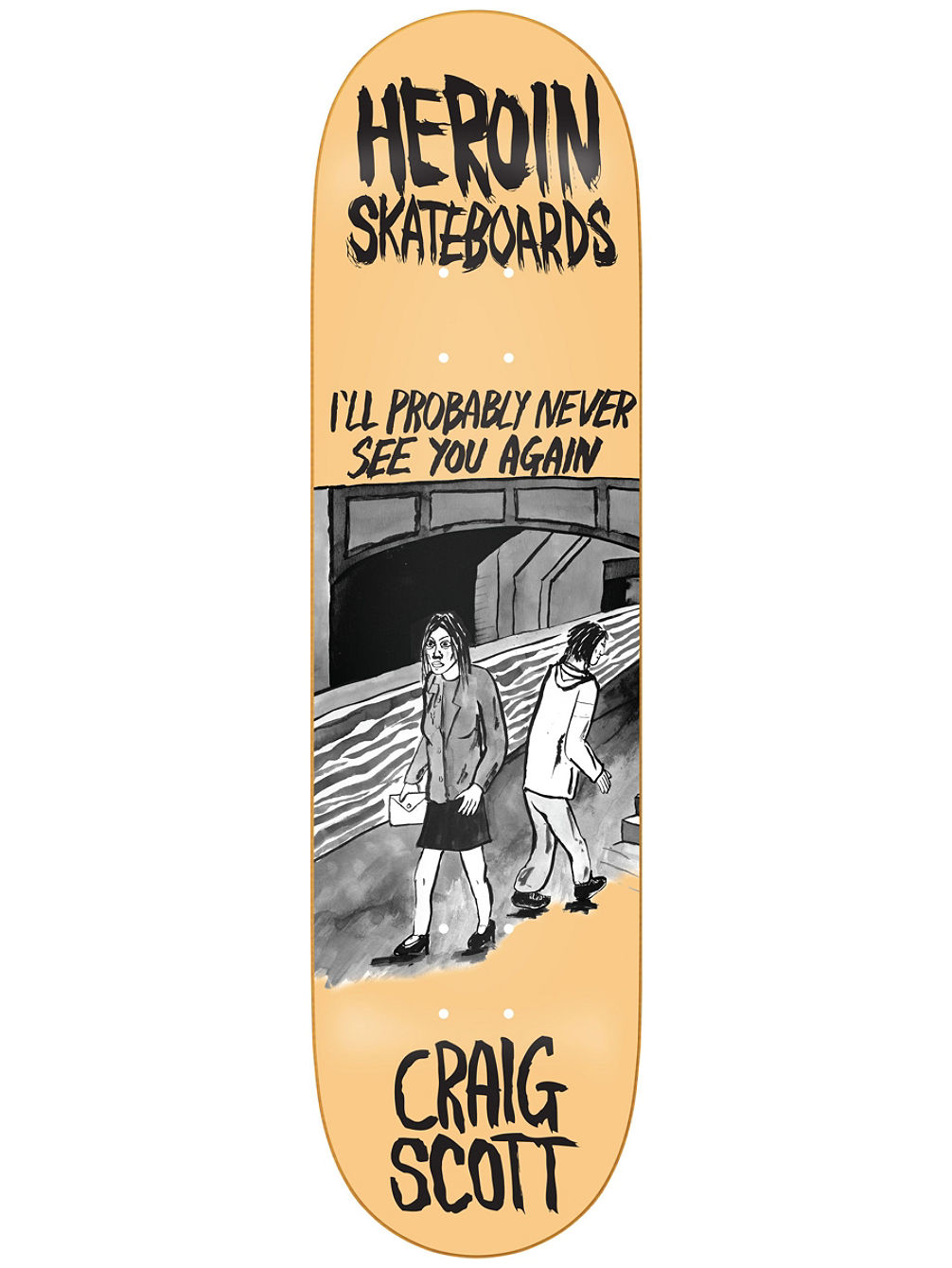 "Questions Wordsmith 8.44"" Skate Deck"