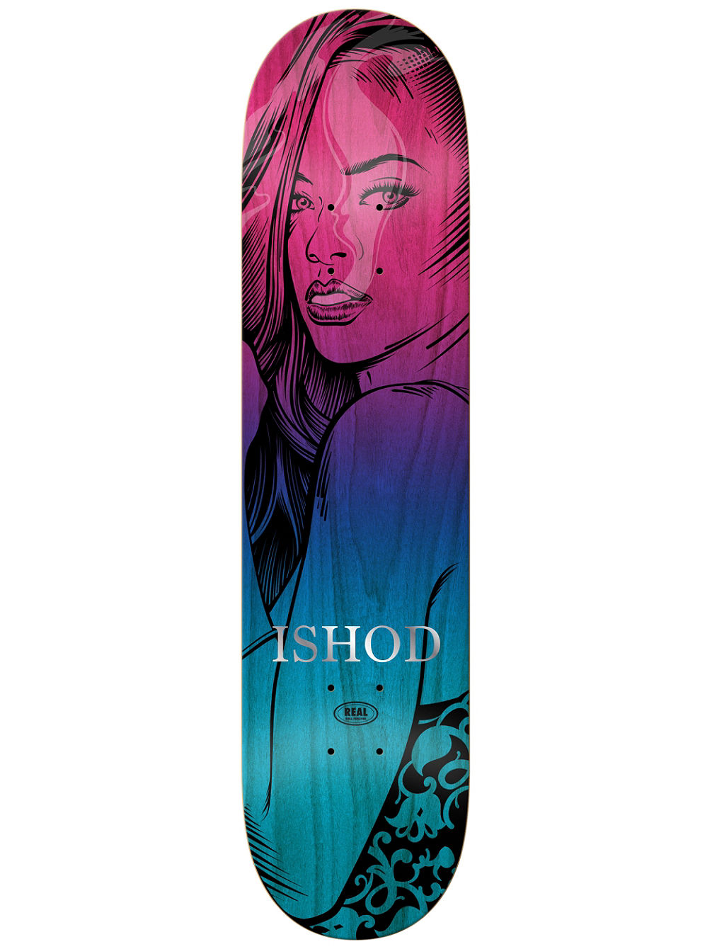 "Ishod Hotbox Faded 8.25"" Skate Deck"