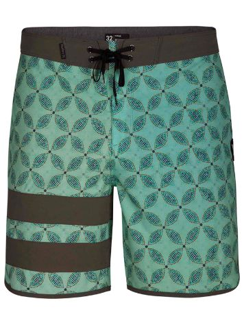 "Hurley Pha Blck Pty Drum Circle 18"" Boardshorts"