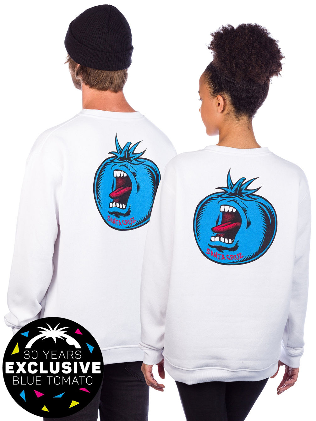 X Blue Tomato Screaming Crew Sweater