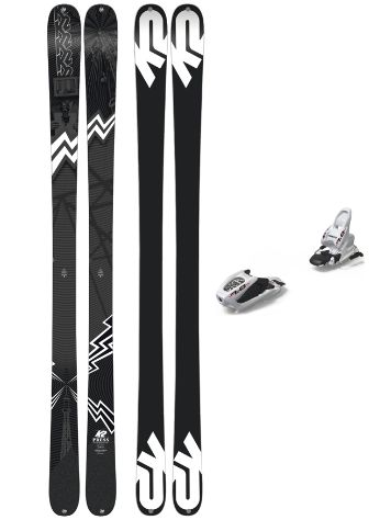 K2 Press 149 + FDT 7 2019 Conjunto freeski
