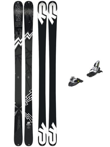 K2 Press 159 + Free Ten 85mm 2019 Conjunto freeski