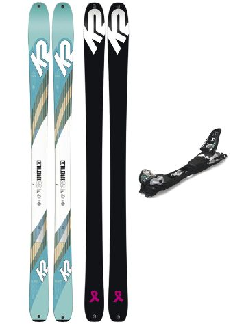 K2 Talkback 88 S153 + F10 Tour 2019 Conjunto freeski