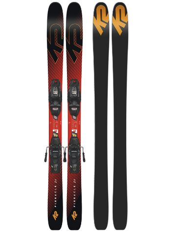 K2 Pinnacle 139 + FDT 7 2019 Conjunto freeski