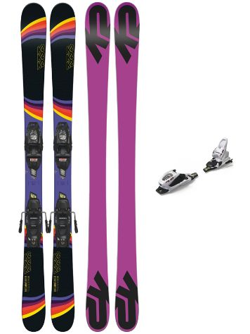 K2 Dreamweaver 139 + FDT 7 2019 75mm Youth Conjunto freeski