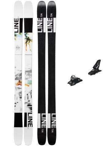 Line Tom Wallisch Pro 164 + Squire 11 ID 2019 Freeski-Set