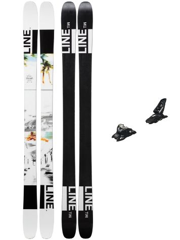 Line Tom Wallisch Pro 171 + Squire 11 ID 2019 Freeski-Set