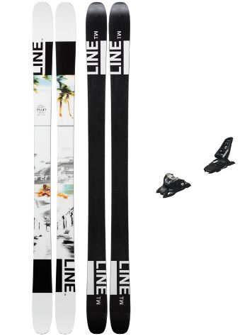 Line Tom Wallisch Pro 178 + Squire 11 ID 2019 Freeski-Set