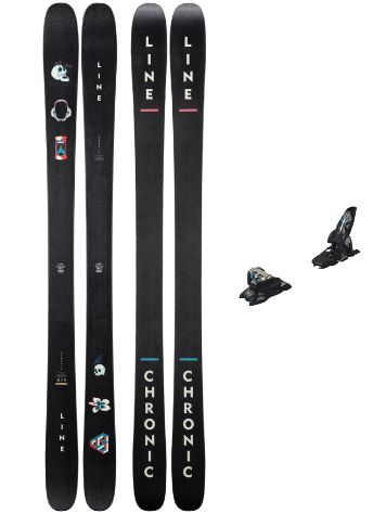 Line Chronic 171 + Griffon 13 ID 2019 Freeski-Set