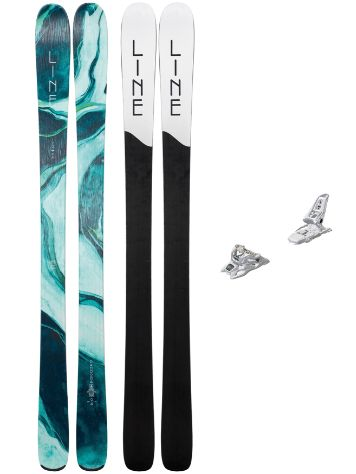 Line Pandora 94 158 + Squire 11 ID 2019 Freeski-Set