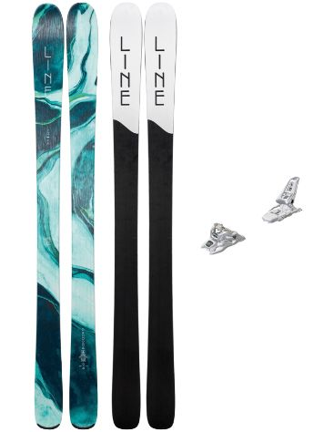 Line Pandora 94 172 + Squire 11 ID 2019 Freeski-Set