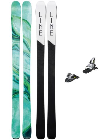 Line Pandora 84 158 + Free Ten + Screw Kit 20 Conjunto freeski