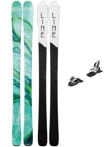 Line Pandora 84 165 + Free Ten + Screw Kit 20 Conjunto freeski