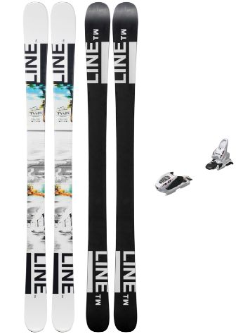 Line Tom Wallisch Shorty 139 + FDT 7 2019 Youth Set freeski