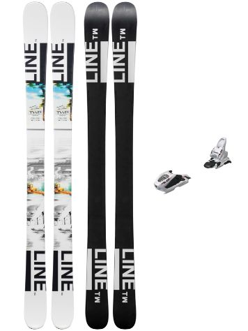 Line Tom Wallisch Shorty 149 + FDT 7 2019 Youth Freeski-Set