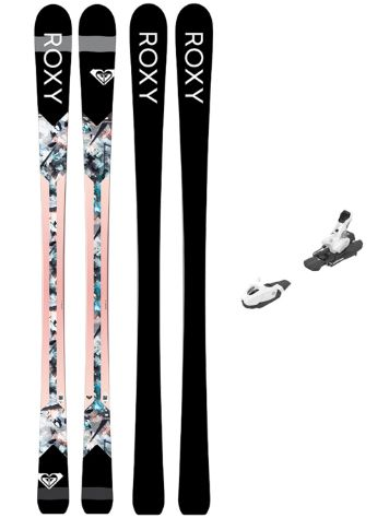 Roxy Kaya 160 + Easytrack L7 B80 2019 Freeski-Set