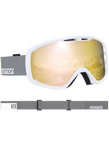 Salomon Aksium White Grey Goggle