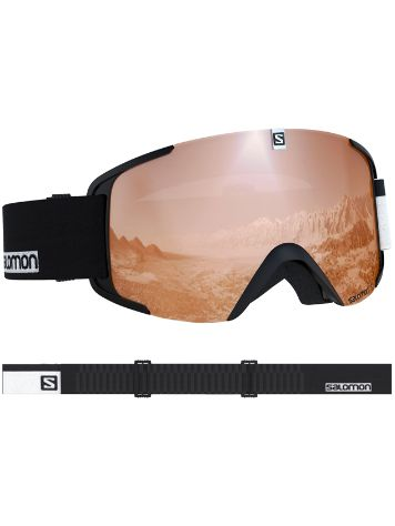 Salomon Xview Access Black White Maschera