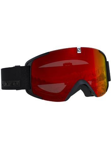 Salomon Xview Black Maschera