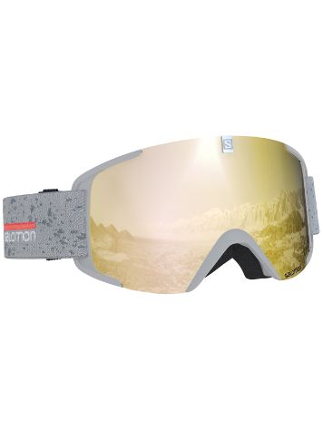 Salomon Xview White Matt Goggle