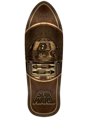 "Santa Cruz Star Wars R2-D2 Inlay 10.35"" Skate Deck"