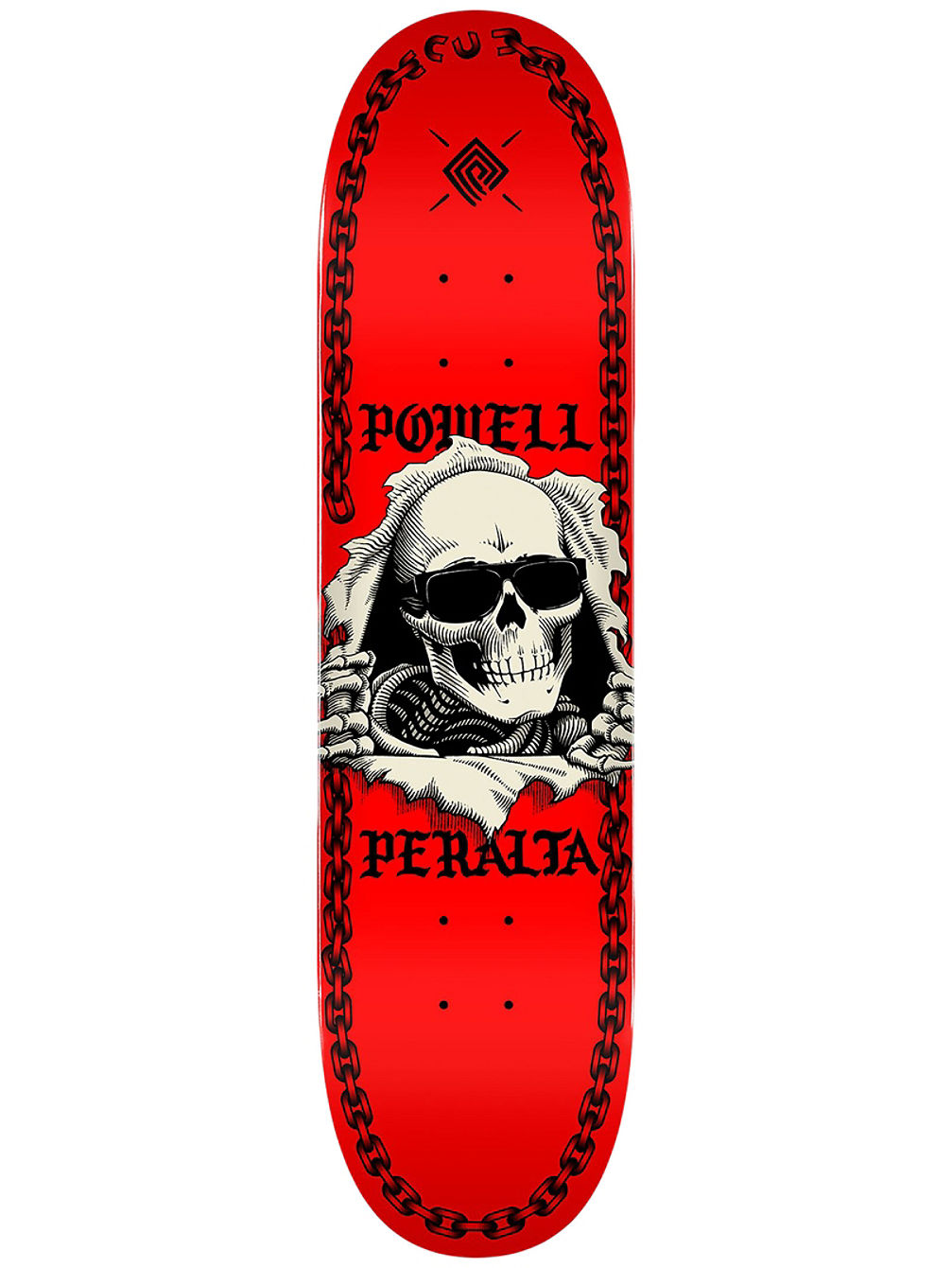 "Ripper Chainz Popsicle 8"" Skate Deck"