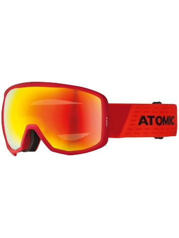 Atomic Count Spherical Red/Black Maschera