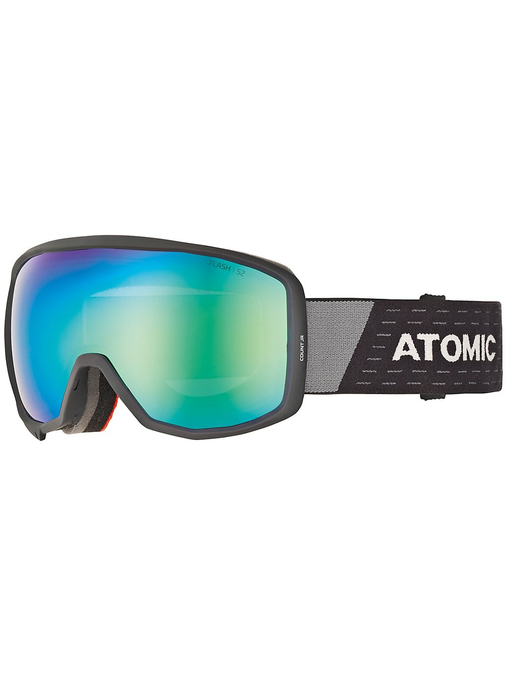 Atomic Count Spherical Black/Grey green