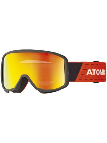 Atomic Count Cylindrical Black/Red Goggle