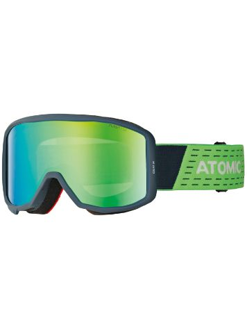 Atomic Count Cylindrical Blue/Green Goggle