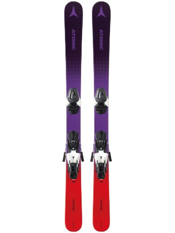 Atomic Vantage 140 + L7 2019 Girls Freeski-Set