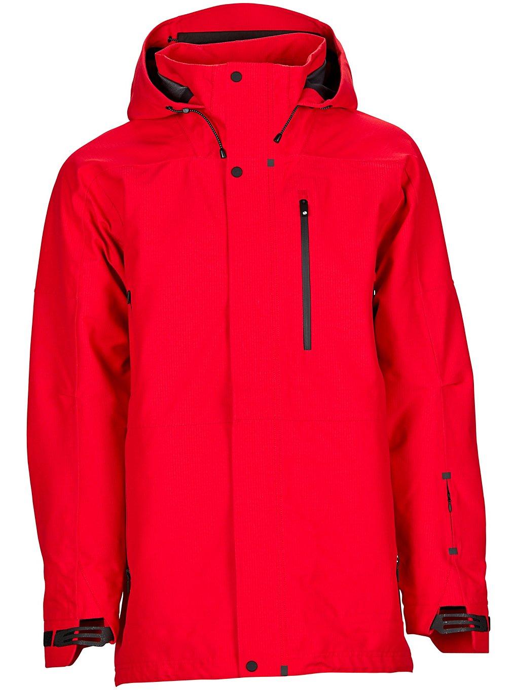Bonfire Aspect 3L Stretch Jacket red Herren