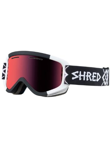 Shred Wonderfy Bigshow Black-White Youth Goggle