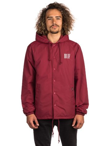 HUF Serif Quilted Coaches Jacket