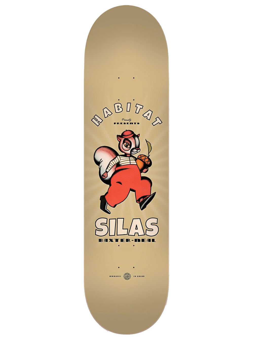 "Silas Celluloid 8.375"" Skate Deck"