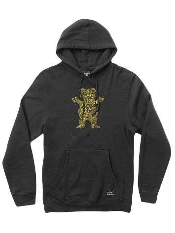 Grizzly Roll Up Bear Sudadera con capucha