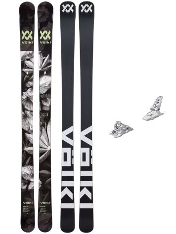Völkl Bash 86 180 + Squire 11 90mm Blk 2019 Conjunto Freeski