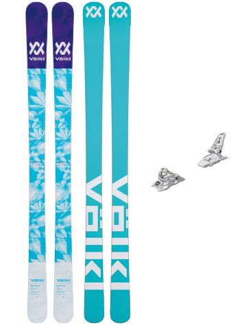 Völkl Bash 86 156 + Squire 11 90mm Wht 2019 Conjunto freeski