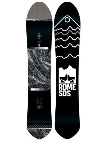 Rome Powder Division Pin Tail 160 2019 Snowboard