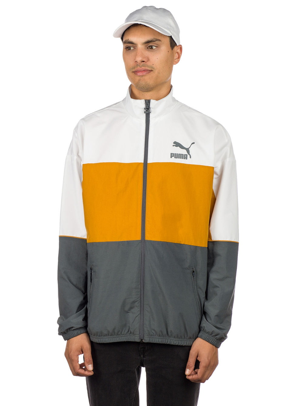Retro Woven Trainingsjacke